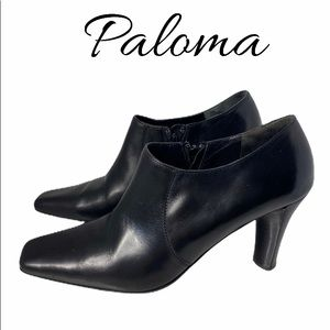 Paloma Leather Booties BN